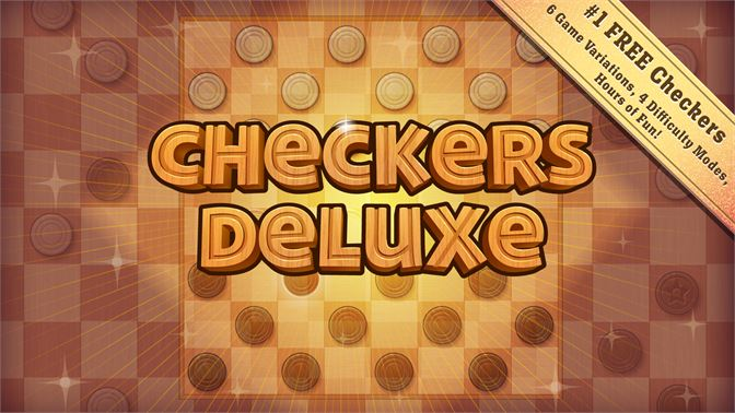 The #1 FREE Checkers game for Windows!