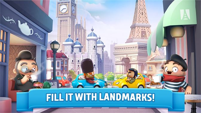 FILL IT WITH LANDMARKS!