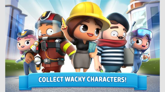 COLLECT WACKY CHARACTERS!