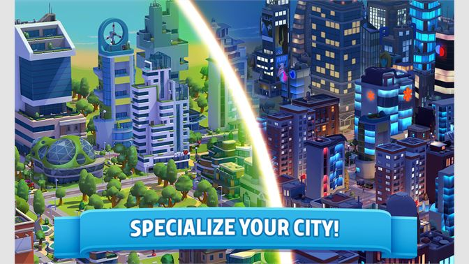 SPECIALIZE YOUR CITY!