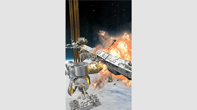 ISS with interior, cupola & airlock! Destroy it in zero gravity!