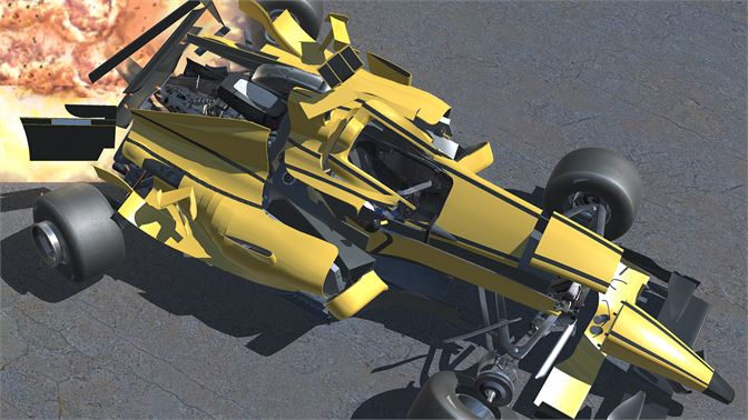 Be world champion in this drivable F1 Car! Sit in the cockpit and race or crash it!