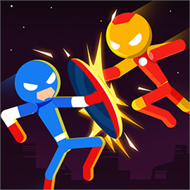 Super Stickman Heroes Fight Free