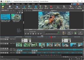 VideoPad Masters Edition for Win screenshot 2