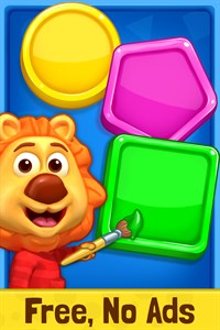 Colors & Shapes - Kids Learn Color and Shape Free