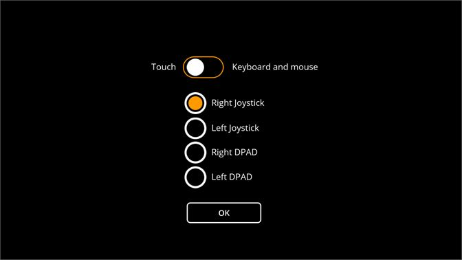 Options for touch controllers