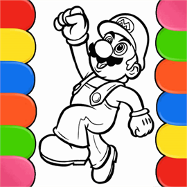 Cartoon Coloring Book for Kids Free +