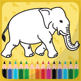Coloring book for kids animals Free +
