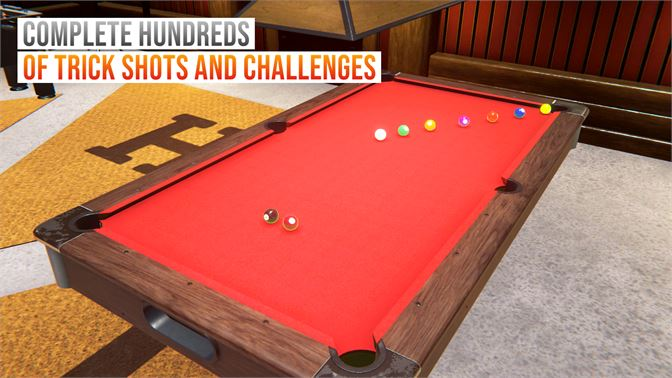 COMPLETE HUNDREDS OF TRICK SHOTS AND CHALLENGES