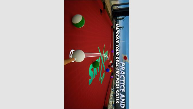Practice and improve your real life pool skills