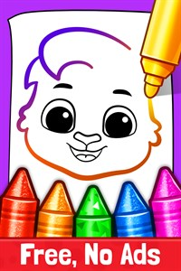 Drawing Games: Draw & Color For Kids Free