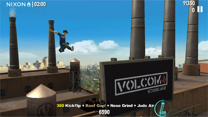 Catch HUGE air and do big tricks! Customize your stats to unlock new possibilities!