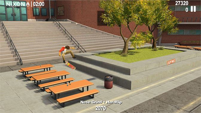 Authentic tricks, gear, and environments inspired by today's top pro skaters!