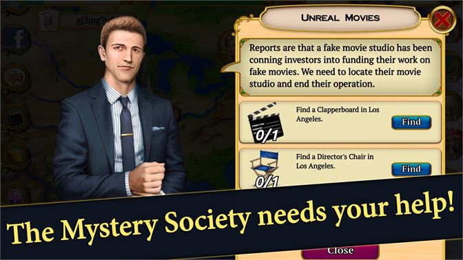 The Mystery Society needs your help!