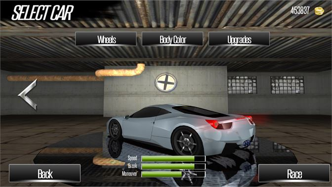 Select, customize & update your car