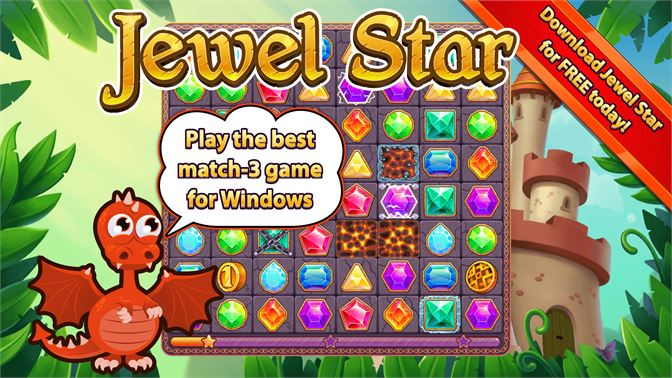 Play the best match-3 game for Windows.