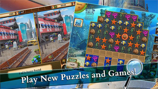 Play New Puzzles And Games!