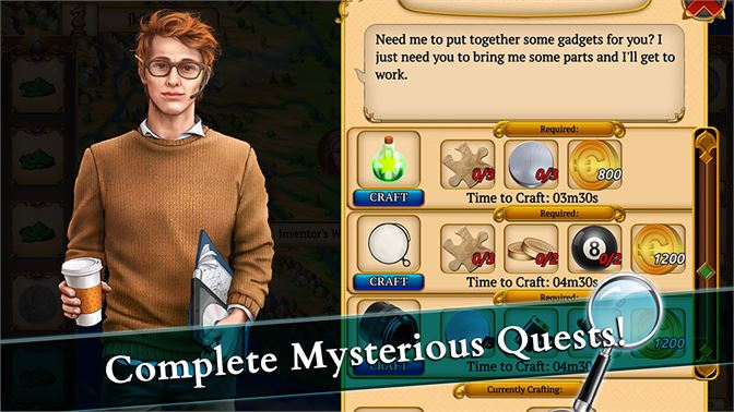 Complete Mysterious Quests!