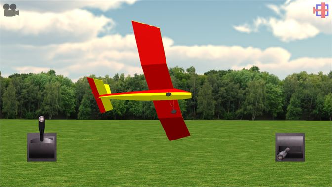 A slow close pass with the Slowmowatt electric parkflyer.