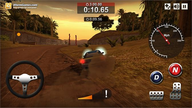 Rally Point 4 - Racing with touch controls