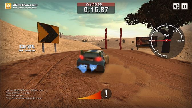 Rally Point 4 - Exploring the first track