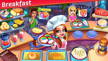 My Cafe Express - Restaurant Chef Cooking Game screenshot 3