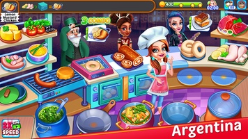 My Cafe Express - Restaurant Chef Cooking Game screenshot 2