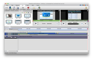 VideoPad Free Video Editor and Movie Maker for Mac screenshot 3