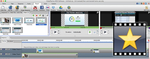 VideoPad Free Video Editor and Movie Maker for Mac screenshot 7