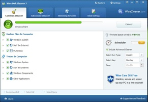 Wise Disk Cleaner Portable screenshot 3