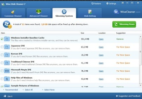 Wise Disk Cleaner Portable screenshot 7
