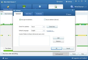 Wise Disk Cleaner Portable screenshot 9
