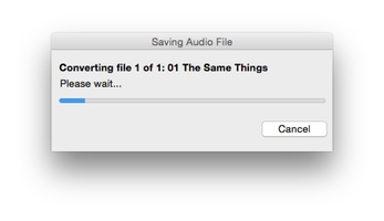 Switch Free Audio and MP3 Converter for Mac screenshot 6