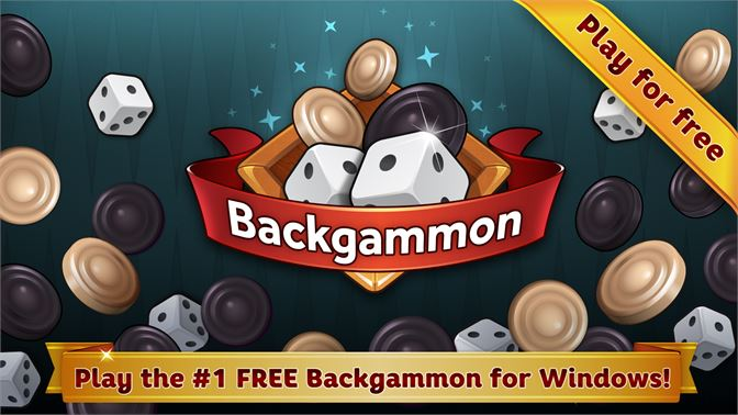 Play the #1 FREE Backgammon for Windows!