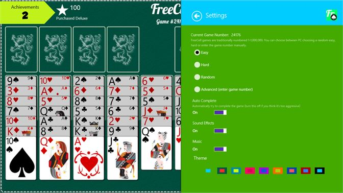 FreeCell has multiple levels