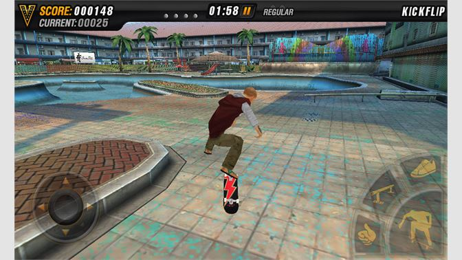 Learn new moves and improve your skateboarding skills to land sick combos.