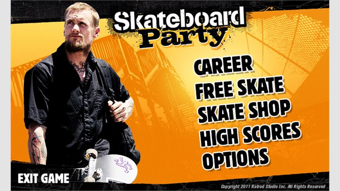 Gain experience and upgrade your skater's attributes.