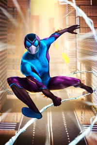 Spider Flight 2021 - Superheroes city rescue, flying hero: run and jump champions Free +