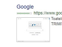 SearchPreview for Chrome Screenshot