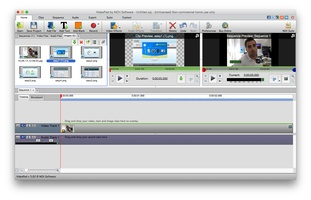 VideoPad Free Video Editor and Movie Maker for Mac screenshot 2