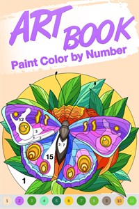 Art Book Paint Color by Number Free +