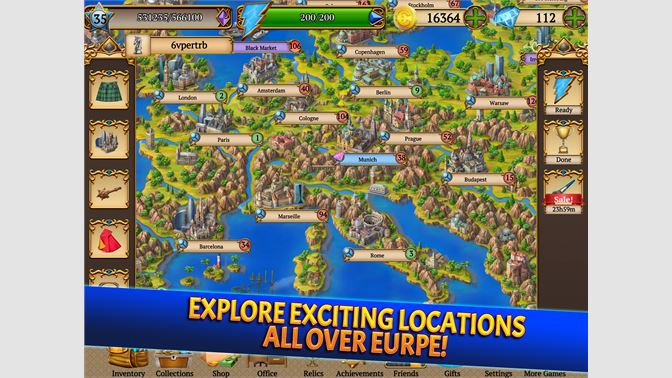 Explore Exciting Locations All Over Europe!