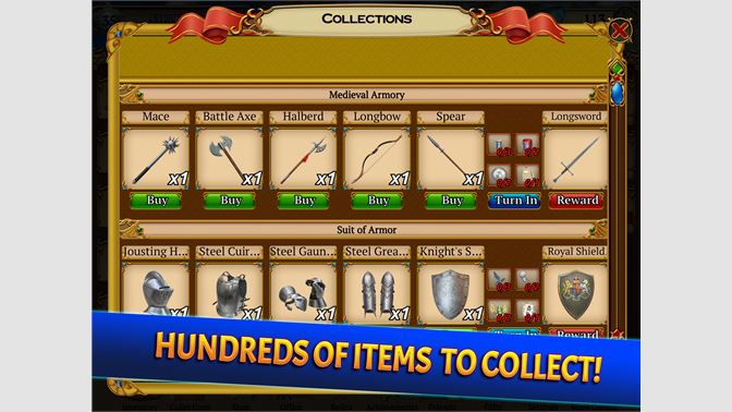 Hundreds Of Items To Collect!