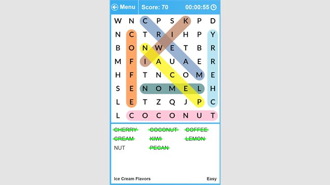 Many word lists to choose from